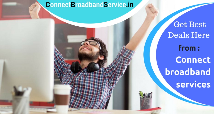 Get best deals on w internet connection in chandigarh from connect broadband